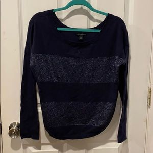 Crop boxy sparkly sweater from Banana Republic